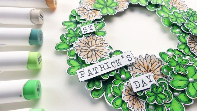 St.Patricks Day Wreath