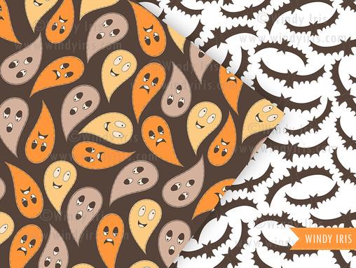 Halloween Patterns - Windy Iris