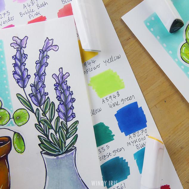Coloring Samples