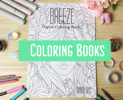 Breeze Coloring Book Cover new