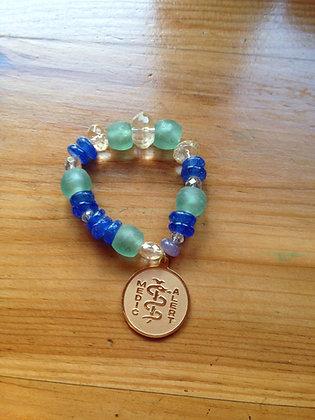 Medic Alert personalized bracelet