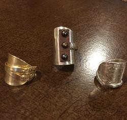 Heirloom Flatware Rings