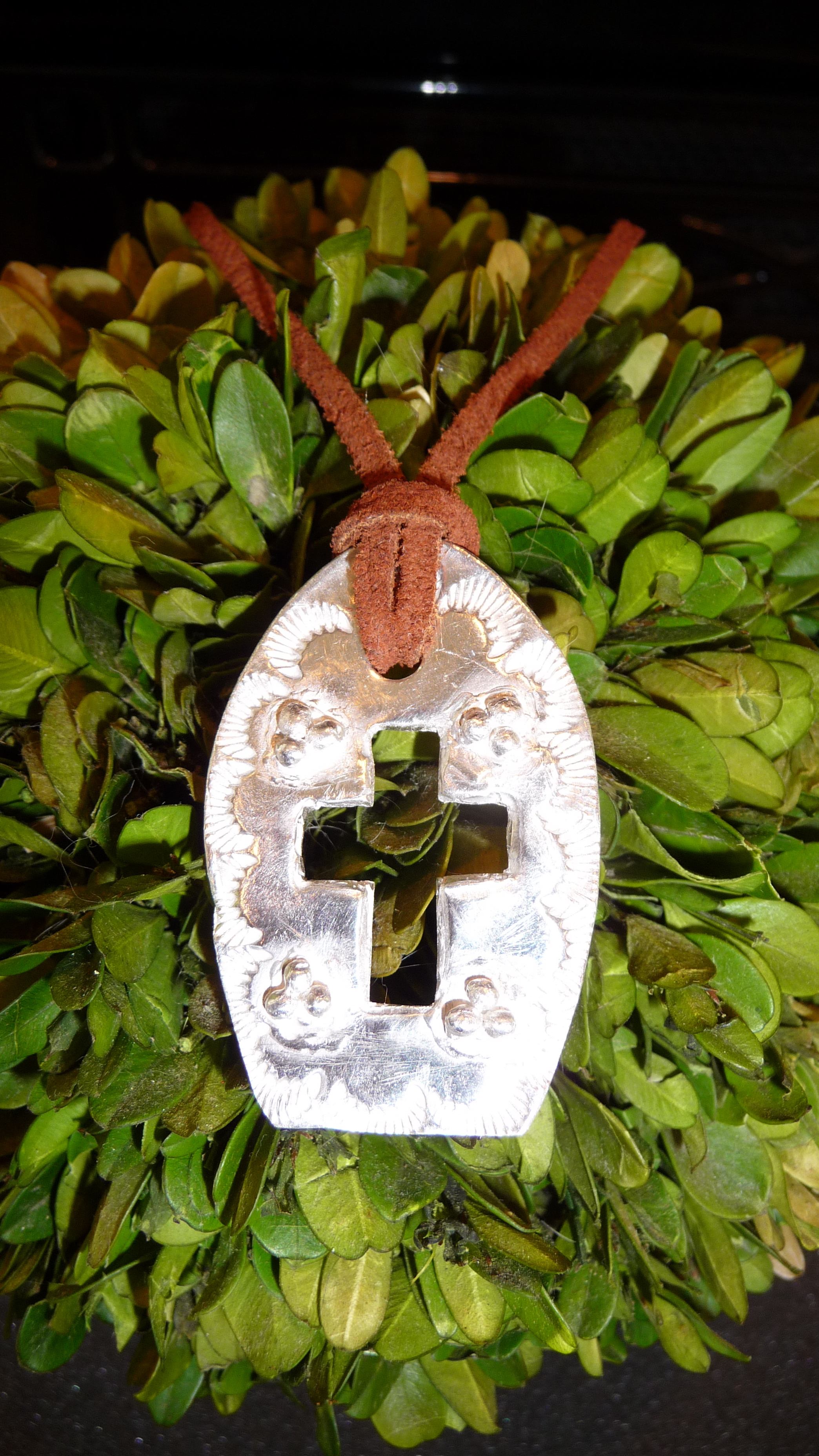 Custom silver cross