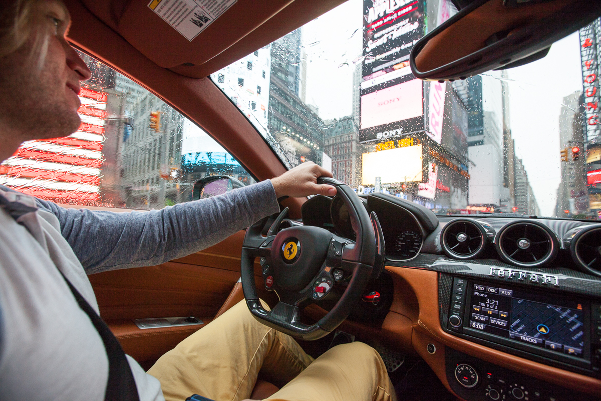FERRARI RALLY IN NYC