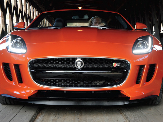 TEST DRIVE- JAGUAR F-TYPE