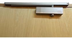 Nikawa silver door closer