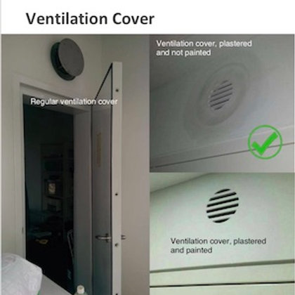 HDB Bomb Shelter Ventilation Cover