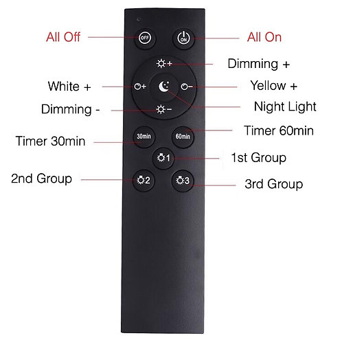 Downlight Dimming Remote