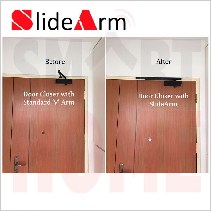 SlideArm (Before & After)
