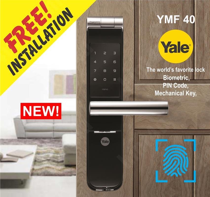 Digital Lock | Yale | YMF40 | Smart Lock | Zwave Lock