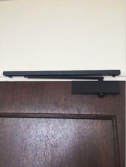 Nikawa black door closer