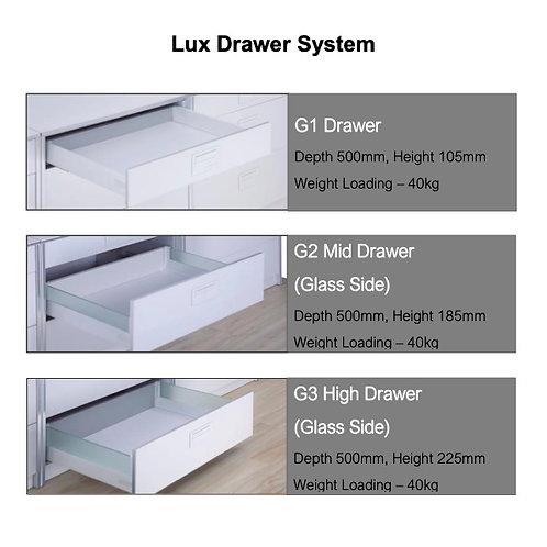 Lux Drawer System