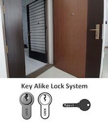 HDB Key Alike
