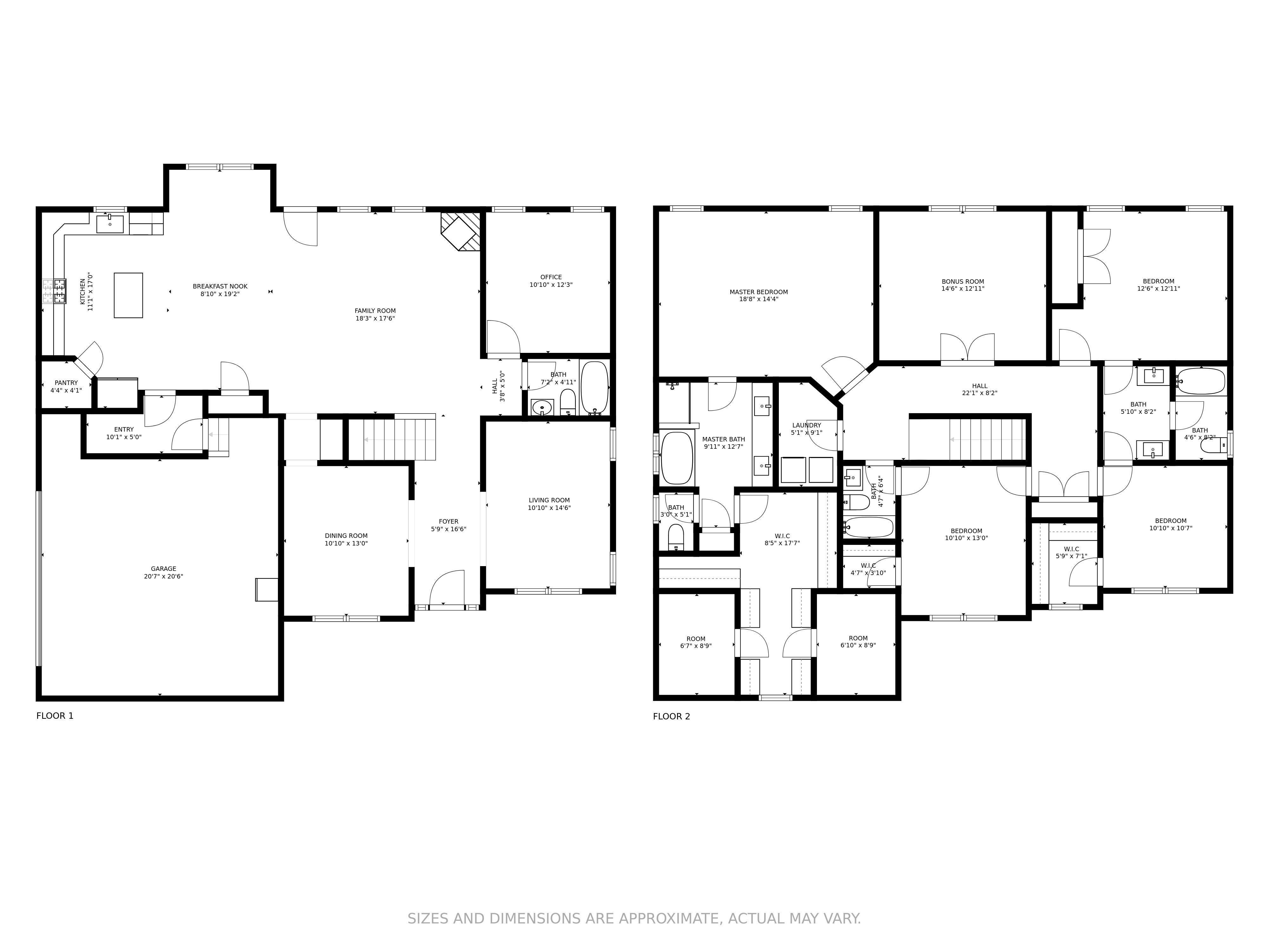Premium Floorplan