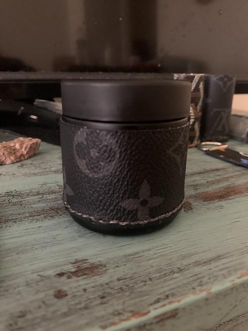 Louis Vuitton Black Monogram Container (JAR)