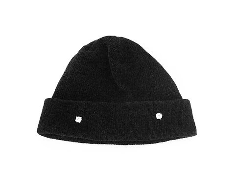 Black Beanie With Magnets
