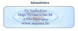 Sticky Address Labels