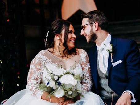 Leah & Matt wedding at 30 James Street