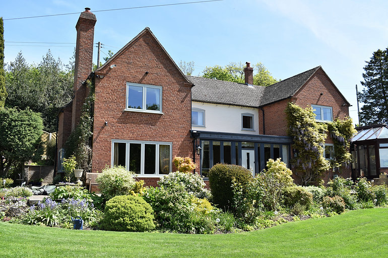 bay windows, glass conservatories, timber alternative, traditional to modern
