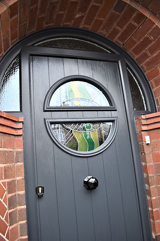 stained glass, custom glass, barrell, anti-snap barrel, anti snap barrell, curved glass,