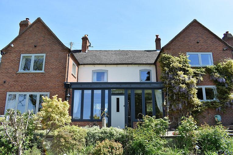 traditional home, Window casements, modern build, sealed units, box sash