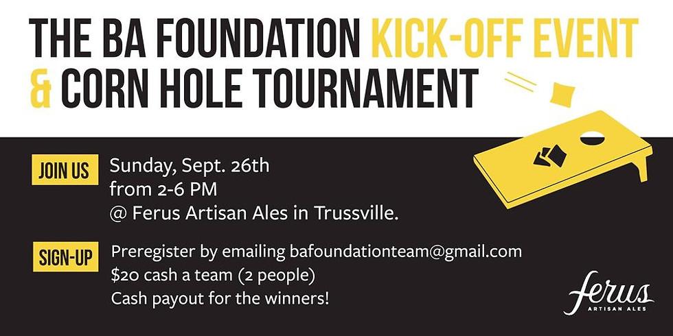 The BA Foundation Kick-Off Event & Cornhole Tournament