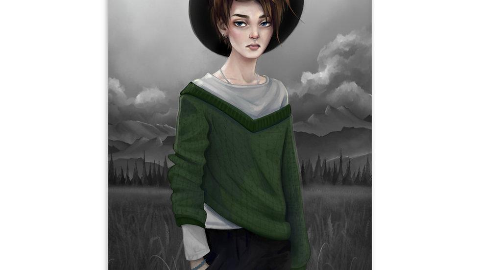 'Witch' Postcard