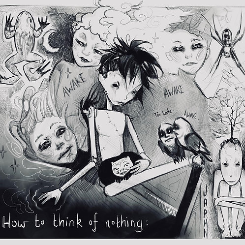 Think of nothing - Archival Print