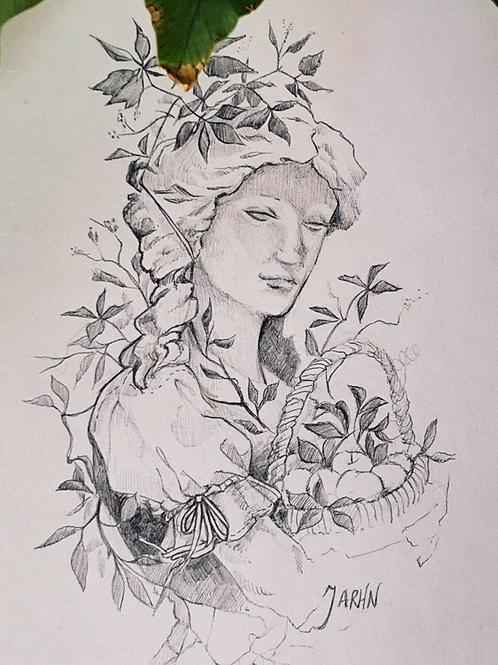 Floral Maiden