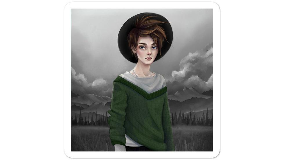 'Witch' Sticker