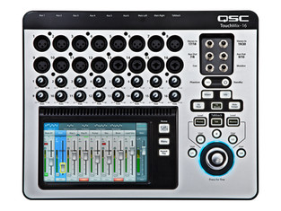 Neu im Miet-Shop: QSC TouchMix-16