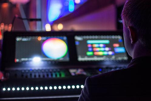 Lichttechniker Tagespauschale (exkl. MWST)