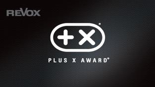 PLUS X AWARD für Revox Produkte