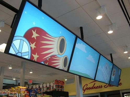 LCD-Panel NEC P461  (Mietpreis / Tag exkl. MWST)