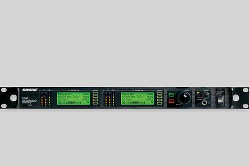 Shure UHF-R / UR4+ 2Kanal-Empfänger  (Mietpreis / Tag exkl. MWST)