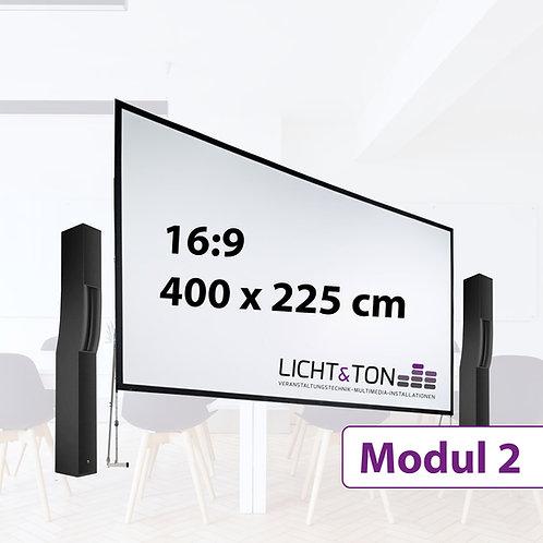 Modul 2: Projektion klein mit Ton / Indoor