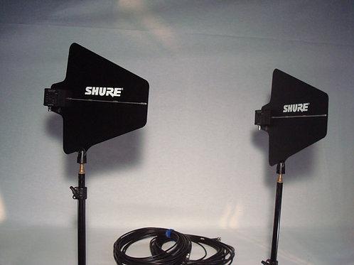 Shure UHF-R / Richtantennenset  (Mietpreis / Tag exkl. MWST)