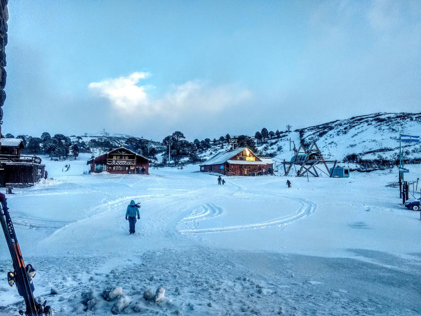 Invierno en Caviahue