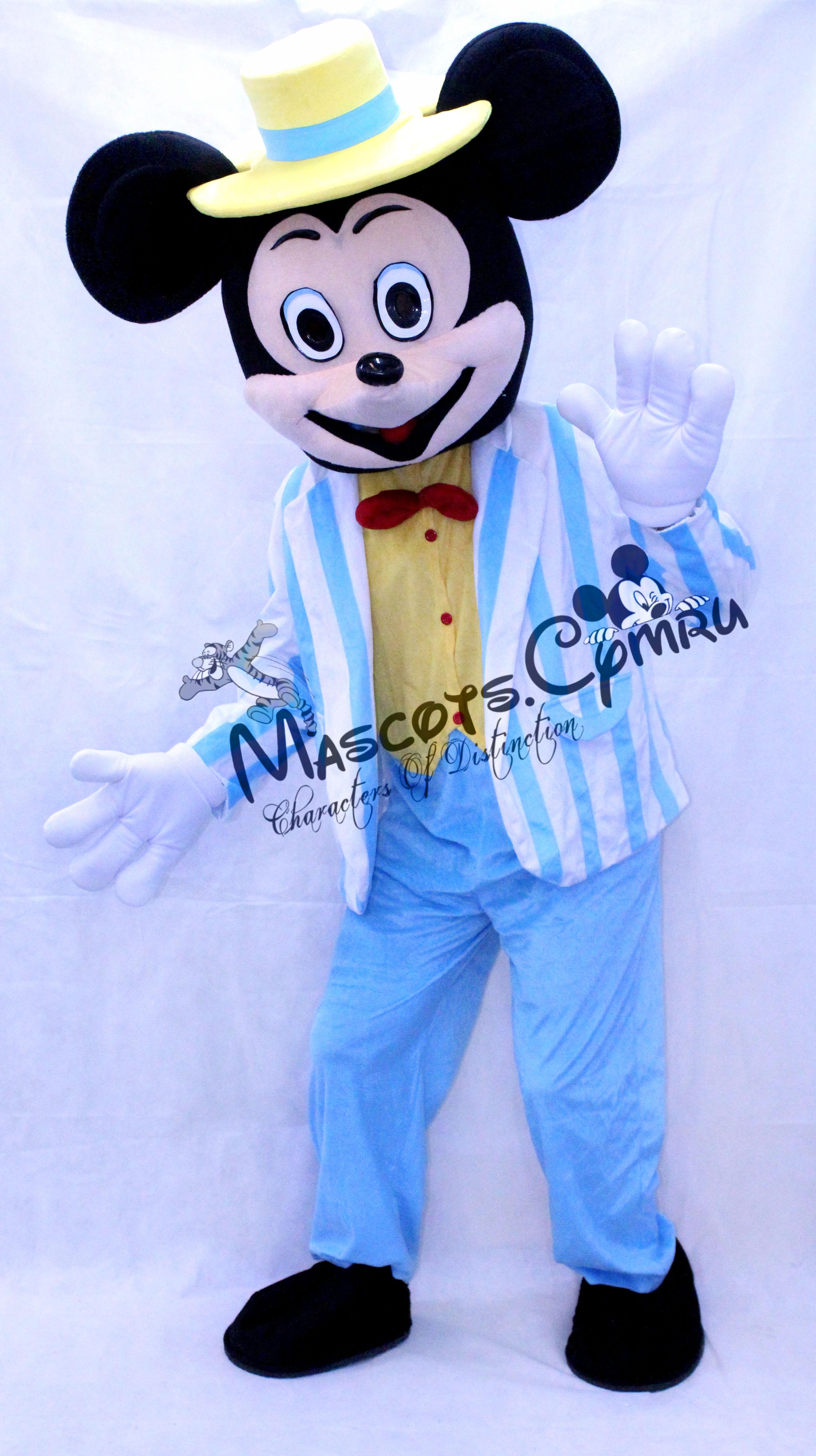 Mickey Blue Suit