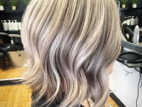 Ash blonde goals