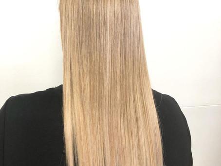 Low maintenance summer hair!