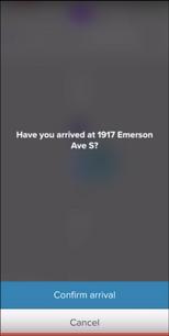 Lyft Driver App Confirmation