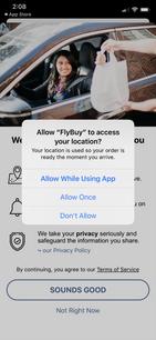 FlyBuy Permissions