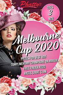 Copy of Melbourne Cup Poster - Made with