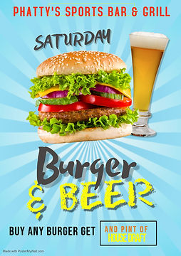 Copy of Burger  Brew Poster - Made with