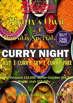 Copy of Indian Food Restaurant Flyer Tem