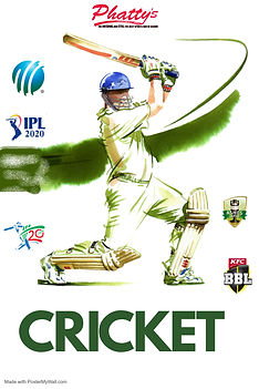 Copy of Cricket Tournament Poster - Made