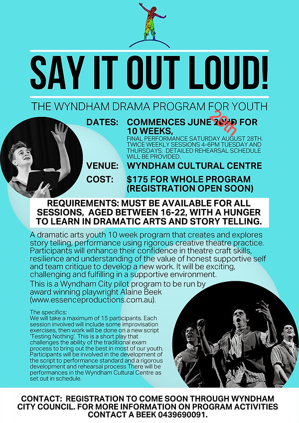 Say It Out Loud Flyer Blue Background_ed