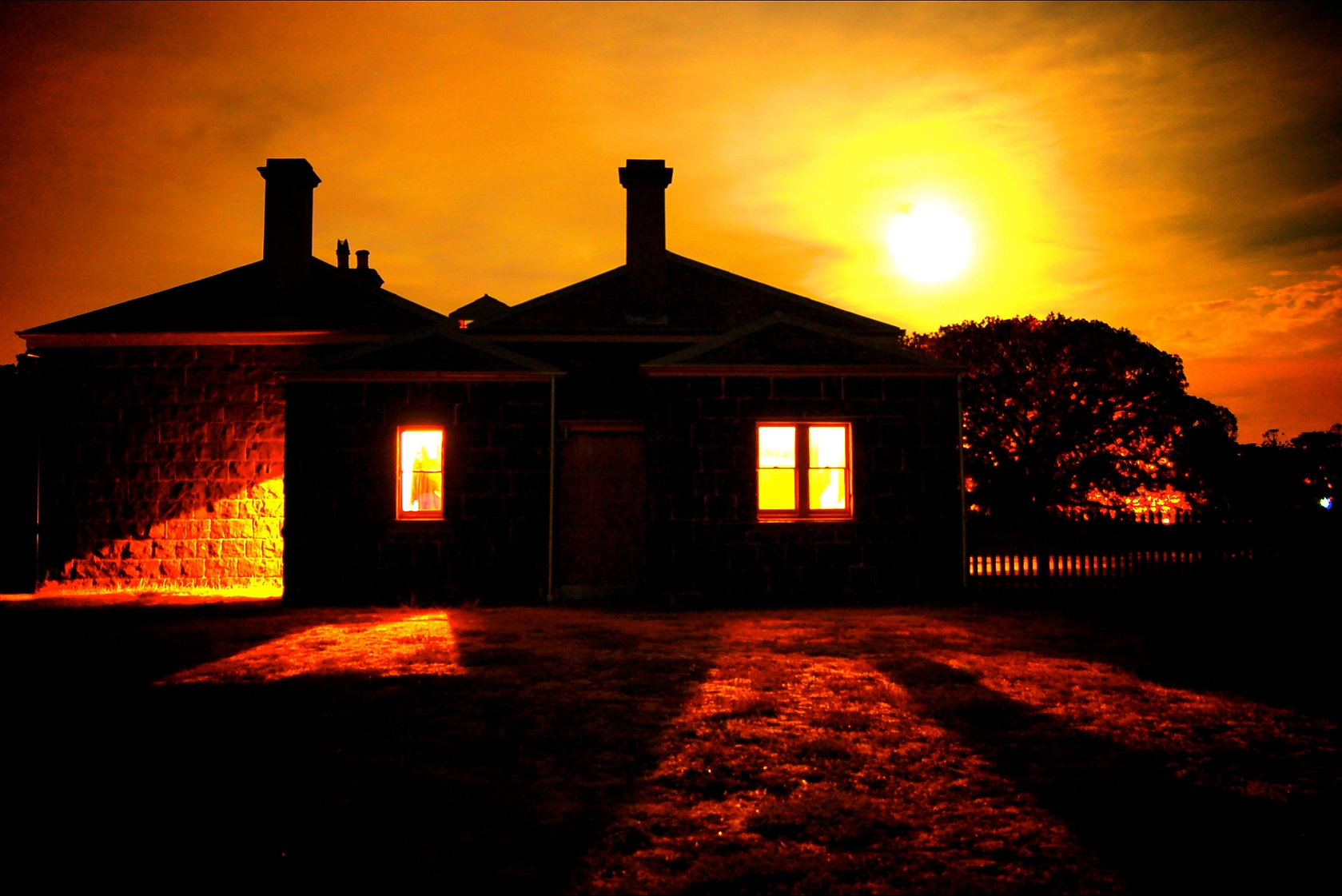Essence Productions Down To Earth Historical Farm Scary Tour Show Melbourne