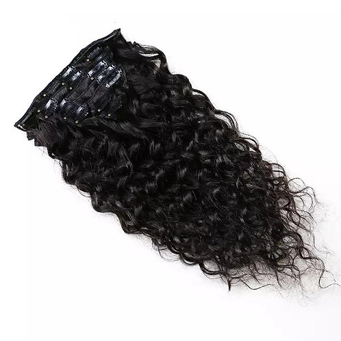 Clip in Human Hair Extension Curly